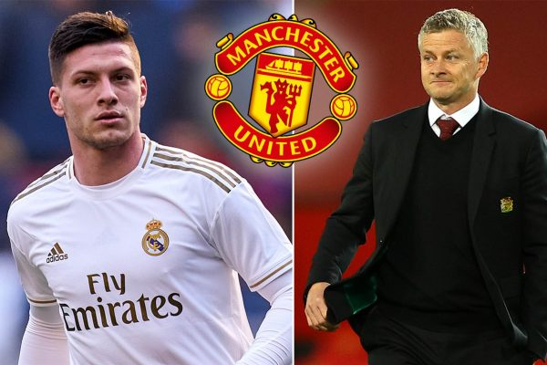 Manchester United are considering a move for Luka Jovic