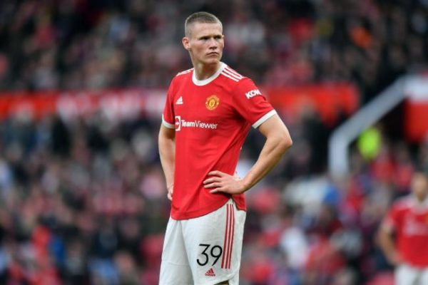 Scott McTominay suffered a groin injury