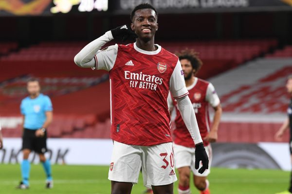 Aston Villa are set to strengthen their squad in the winter of 2022 by snagging Arsenal striker Eddie Nketiah in earnest.